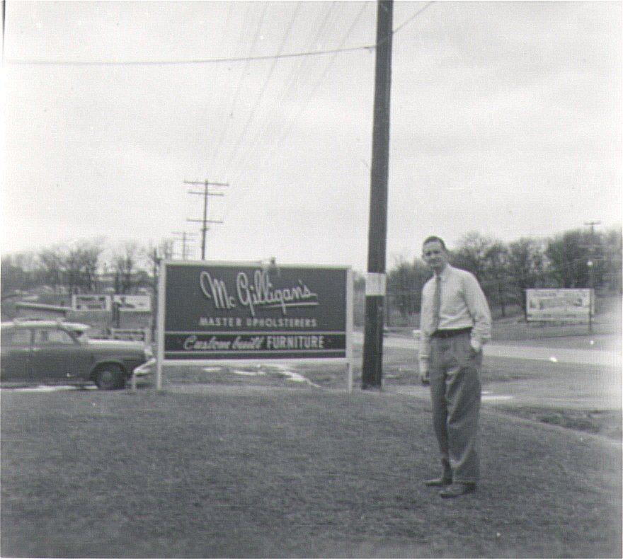 "Jack's sons John & Bill moved ""the shop"" to 5106 University Avenue"