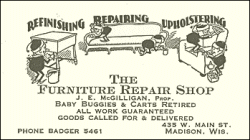 The Furniture Repair Shop 435 West Main Street Madison WI