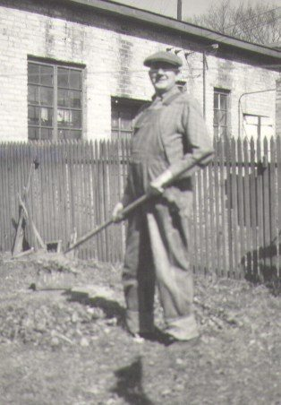 In the Depression years, Jack worked for the City of Madison Street Department during the day, and at night he took care of the furniture business.