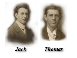 Two of their children John Edward (Jack) and Thomas W. began their furniture careers working at the Baily Furniture Company located at  412 State Street.