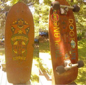 1979 Dogtown Jim Muir Design TRI PLANE Skateboard