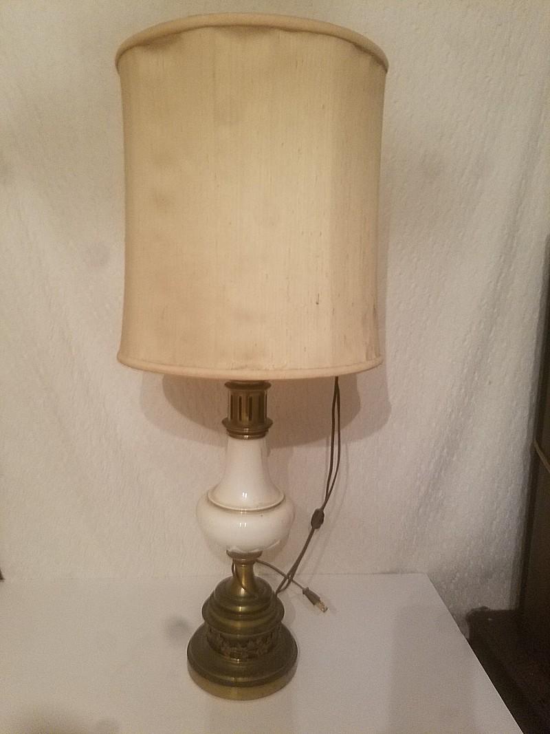 Pair of 1950s stiffel lamps