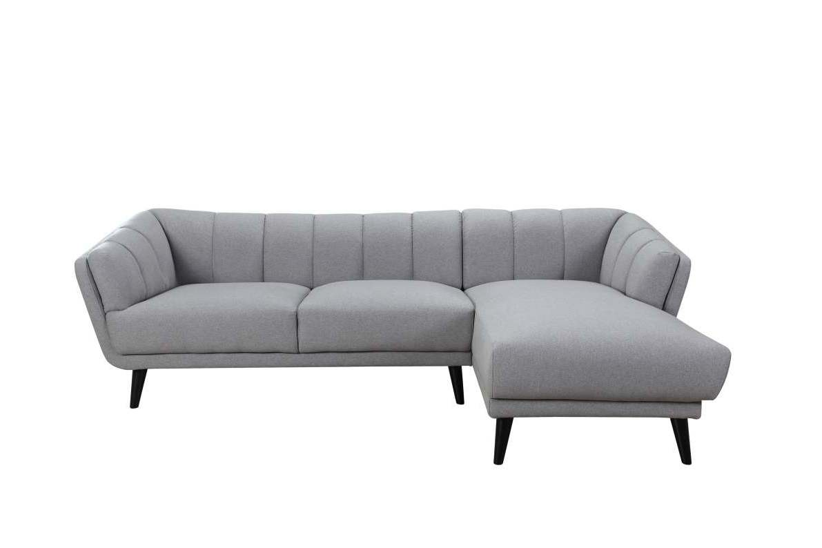 Blake LAF Single Arm 2 Seater - Slate Grey