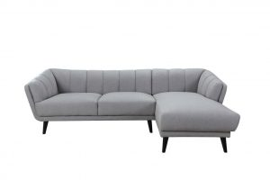 Blake RAF Chaise Sectional – Slate Grey