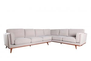 Camden LAF 3 Seat Sectional - Cloud
