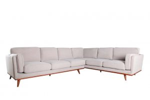 Camden RAF Single Arm Corner Sofa – Cloud