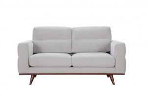 Leonardo Loveseat – Light Taupe