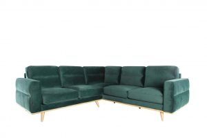 Leonardo Sectional – Dark Forest