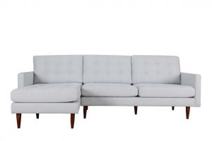 Bernard LAF Chaise Sectional – Cloud