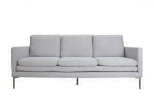 Firenza Sofa – Textured Silver