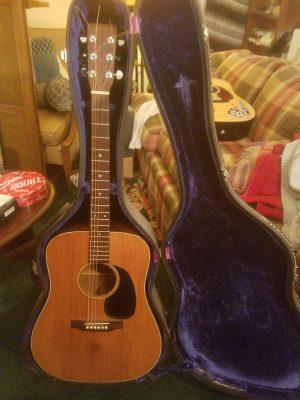 1970's Martin D-18 Acoustic Guitar