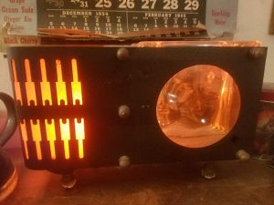 Antique Retro TV Lamp